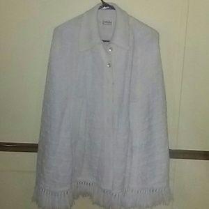 Vintage Cuddle knit cape